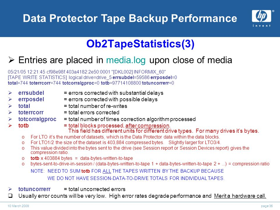 hp data protector troubleshooting guide